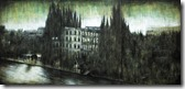 ISOLA (triptych),  oil, pigments and enamel on canvas, 120x255cm, 2011